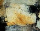 Komposition 10.015 - Mischtechnik auf Leinwand - 120x80