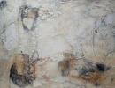 Komposition 10.026 - Mischtechnik auf Leinwand - 90x120