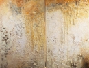 Komposition 10.032.1.2 - Mischtechnik auf Leinwand - 2x40x120 perfekt