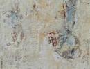 Komposition 10.038 - Mischtechnik auf Leinwand - 40x120