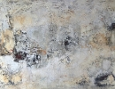 Komposition 10.042 - Mischtechnik auf Leinwand - 120x90