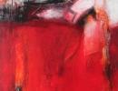 Komposition 9.055 - Mischtechnik auf Leinwand - 80x120
