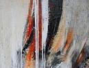 Komposition 9.115 - Mischtechnik auf Leinwand - 100x120