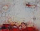 Komposition 9.138 - Mischtechnik auf Leinwand - 90x120