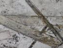 Komposition 9.152 - Mischtechnik auf Leinwand - 70x140