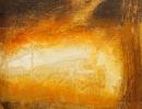 Komposition 9.105 - Mischtechnik auf Leinwand - 80x100