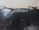 Komposition 10.071 - Mischtechnik auf Leinwand - 90x120