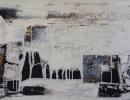 Komposition-10.119-140x80-Mischtechnik auf Leinwand