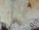 Komposition 10.018.2 - Mischtechnik auf Leinwand - 90x120