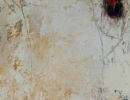 Komposition 10.037 - Mischtechnik auf Leinwand - 40x120