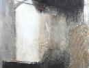 Komposition 10.064.1 - Mischtechnik auf Leinwand - 80x140