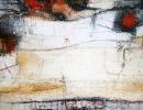 Komposition 9.140 - Mischtechnik auf Leinwand - 120x80