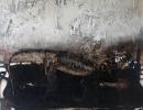 Komposition 10.079 - Mischtechnik auf Leinwand - 90x120