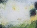 Komposition 9.187 - Mischtechnik auf Leinwand - 80x80
