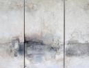 Komposition 10.100 - Mischtechnik auf Leinwand - 3x80x140
